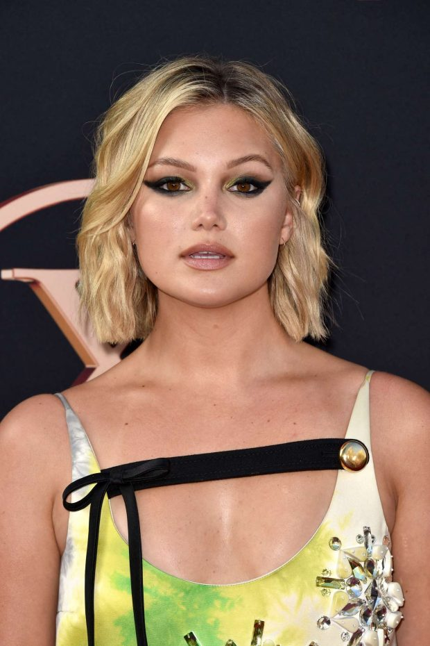 Olivia Holt Looks Sexy in Party Dress