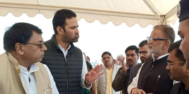 कृषि मंत्री सचिन यादव के वीडियो पर बवाल, शिकायत चुनाव आयोग पहुंची | MP NEWS