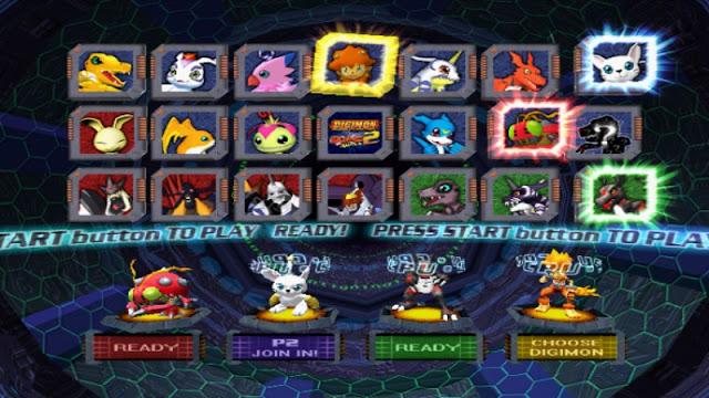 Download Digimon Rumble Arena 2 PS2 zona-games.com