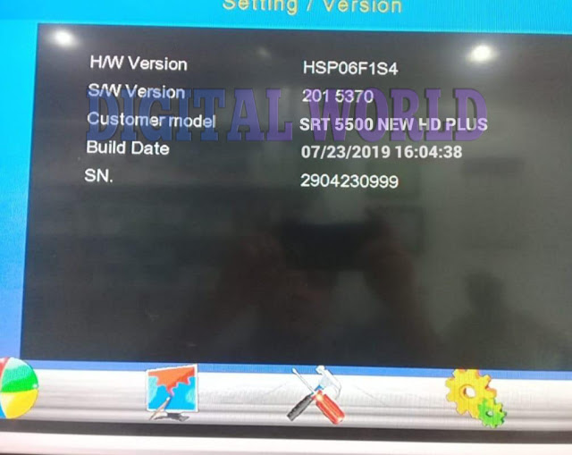 STARTRACK SRT 5500 NEW HD PLUS RECEIVER 1506F4M NEW SOFTWARE