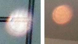 mysterious orange orbs