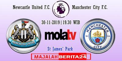 Prediksi Newcastle United vs Manchester City — 30 November 2019