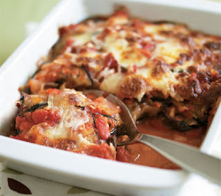 aubergine bake recipe