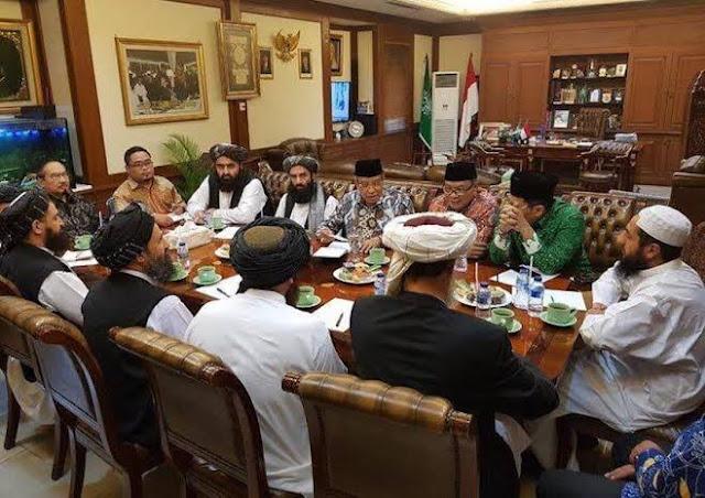 Heran Taliban Dicap Wahabi, HNW: Mazhab Mereka Hanafiah, Kultur dan Tradisinya Sama dengan NU