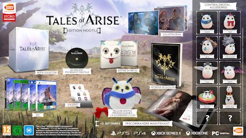 l'Edition spéciale Hootle de Tales of Arise