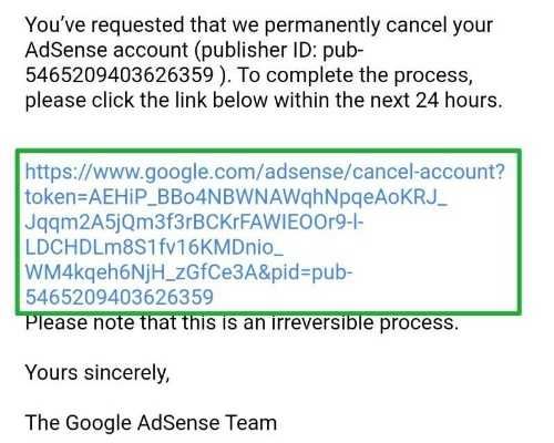adsense account delete kaise kare, delete disable google adsense account, cancel adsense account