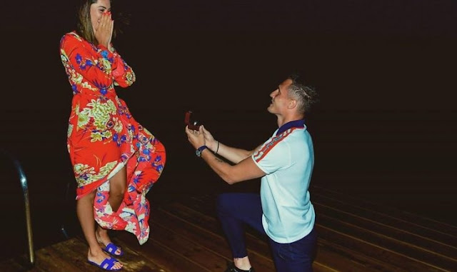 Taulant Xhaka to be married after proposed Arbnora on his knees