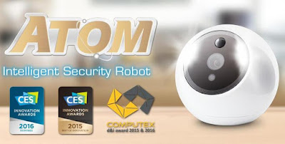 intelligent home security robot
