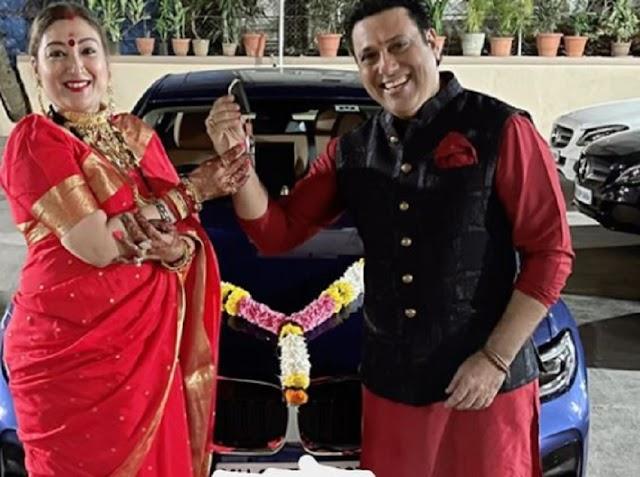 गोविंदा ने करवा चौथ पर पत्नी को दिया शानदार गिफ्ट, फैंस कर रहे तारीफ