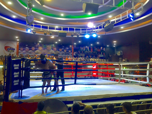 Muay thai kickboxing in Chiang Mai, Thailand