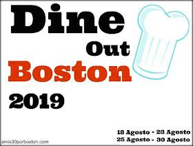 Boston Dine Out Agosto 2019