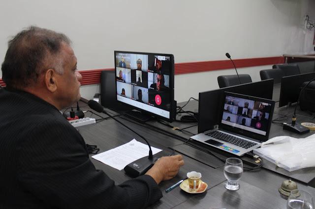 Vereador Hamilton Bezerra solicita informações sobre os tremores de terra em Caraúbas ao Laboratório de Sismologia da UFRN