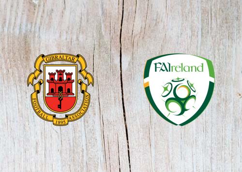 Gibraltar vs Ireland - Highlights 23 March 2019