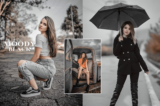 How to Edit Moody Black in PhotoshopCC | Moody Black Preset