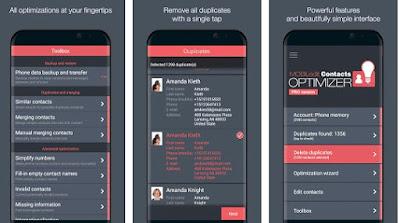 تطبيق Simpler Merge Duplicates