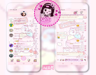 Ice Cream Theme For YOWhatsApp & Fouad WhatsApp By Sandy