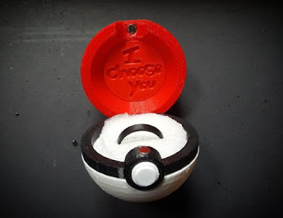 Pokeball Ring Box