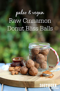 Raw Cinnamon Donut Bliss Balls Recipe