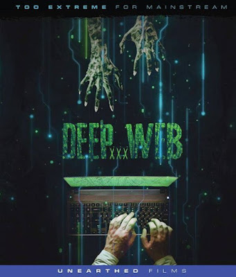 Blu-ray cover for Unearthed Films' DEEP WEB XXX.