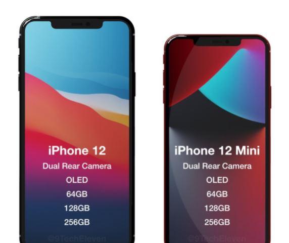 Apple iPhone 12 and mini