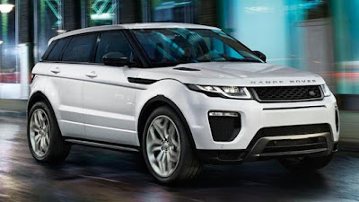 Range Rover Evoque convenience: cruise and climate control