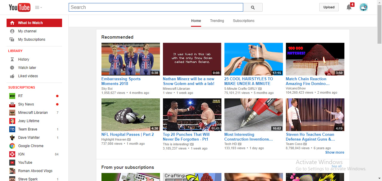 Joey The Software: How to Get the Old 2014 YouTube Layout Design!