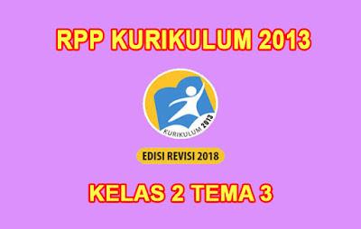 download rpp kelas 2 tema 3 k13 pdf tahun 2019 2020