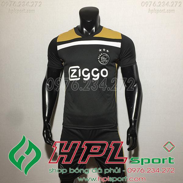 Áo bóng đá câu lạc bộ Ajax đen 2020