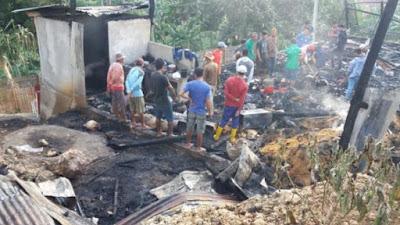 Bocah Korban Kebakaran di Lappae Meninggal Dunia Setelah Dirawat Sepekan