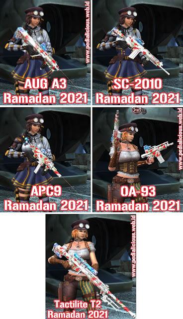 Preview Senjata No Rules Seri Ramadan 2021 Point Blank Zepetto Indonesia