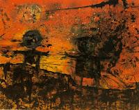 dipinto Enrico Baj periodo nucleare