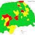 Harta restricțiilor impuse în județul Suceava, valabilă la 26 octombrie, și numărul cazurilor de Covid-19 în fiecare localitate din județ