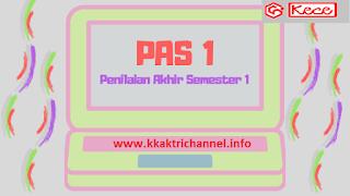 Soal PAS, UAS Ganjil  PKn Kelas 8 Tahun Pelajaran 2019-2020