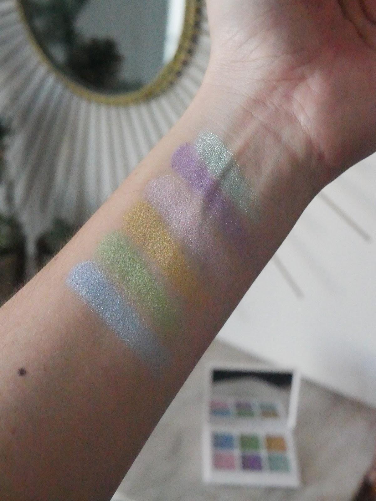 Fenty Beauty Snap Shadows pastel frost