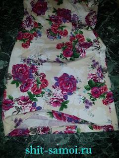Обработка подола платья