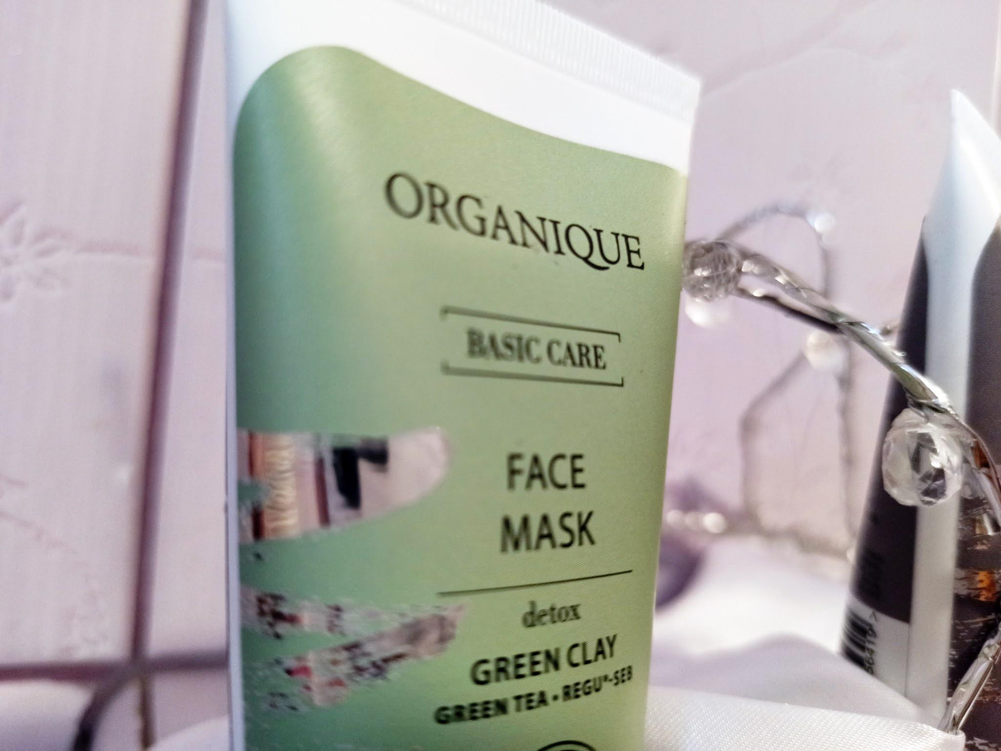 Opinia  detoksykującej maski do twarzy Organique
