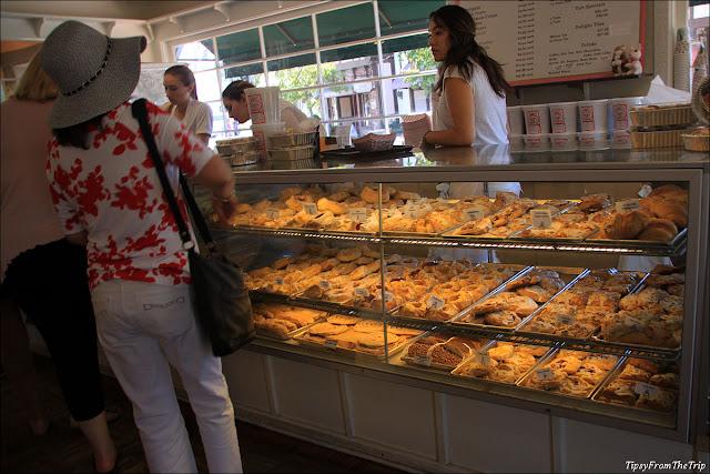 Danish pastries, Mortensen's Solvang