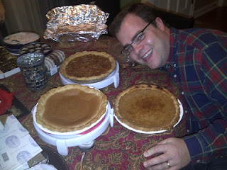 Thanksgiving Feast and Pies