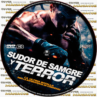 GALLETA Blood, Sweat & Terrors - SUDOR SANFRE Y TERROR 2018 [ COVER DVD]