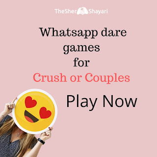 whatsapp dare game for crush with answer