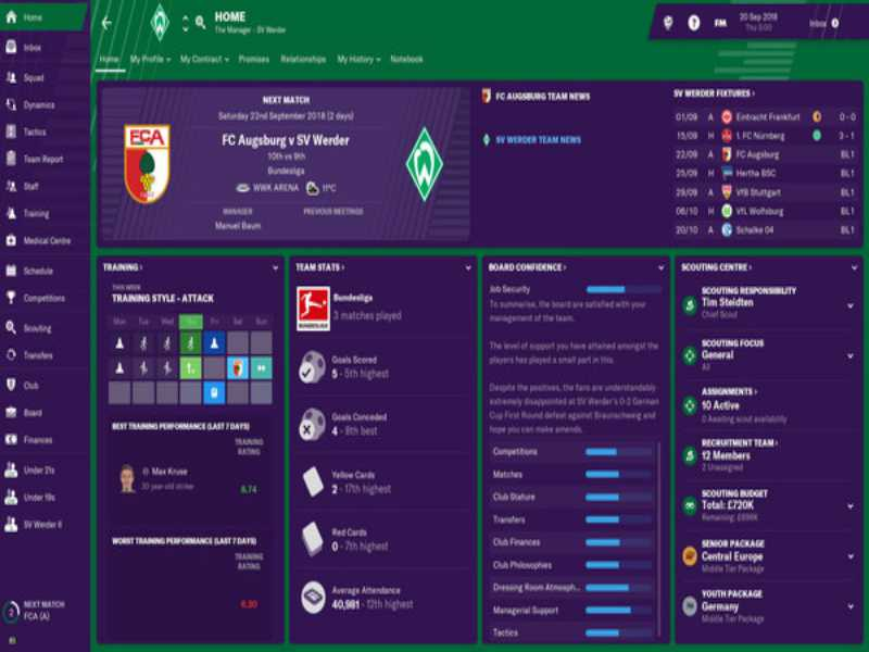 Download Football Manager 2019 Game Setup Exe