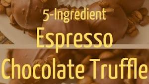 5-Ingredient Espresso Chocolate Truffle