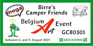 belgium art event geocaching mega event