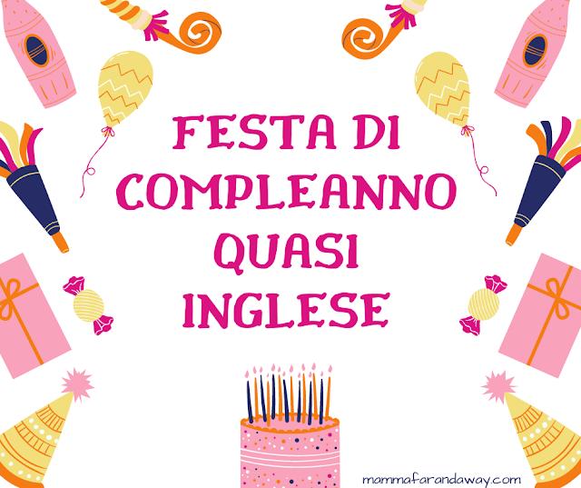 festa di compleanno inglese