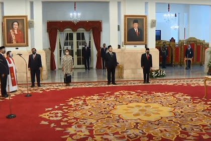 Presiden Jokowi Lantik 12 Duta Besar RI untuk Negara Sahabat