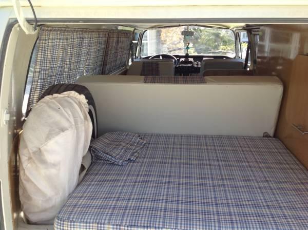 1969 Volkswagen Early Bay Camper  vw bus wagon