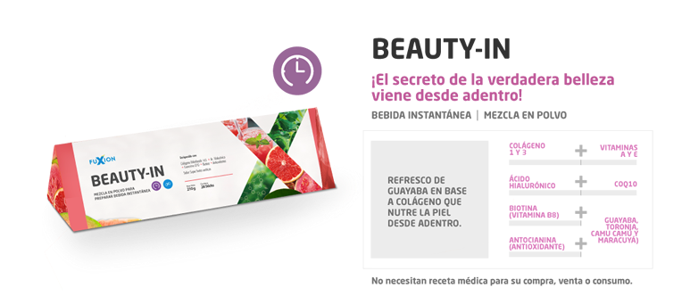 beauty in fuxion beneficios precio catalogo de productos fuxion