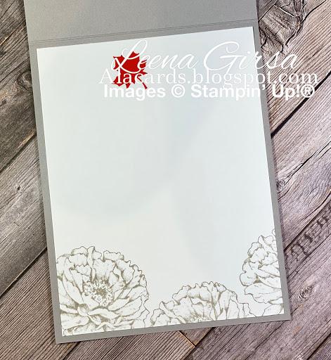 handmade floral card