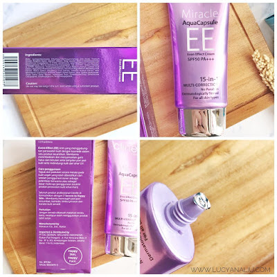 Clinelle Hydracalm Serum and WhitenUp Miracle AquaCapsule EE Cream