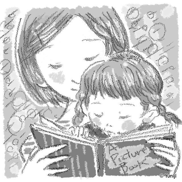 新作イラスト(手描きタッチ)子どものポートレイト作品